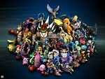 Super Smash Bros Brawl Cast Portrait