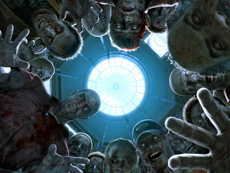 Dead Rising Zombies - cool, dead, rising, zombies