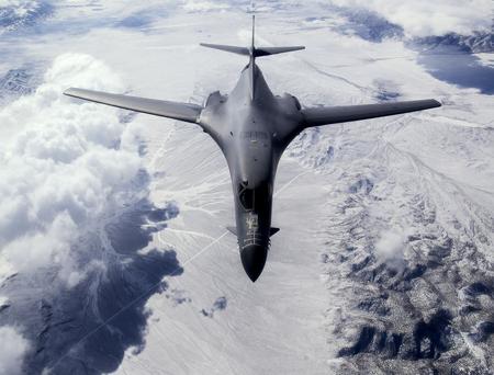 B1 Lancer - b1, rockwell, supersonic, jet, plane, airplane, b1b, bomber, lancer