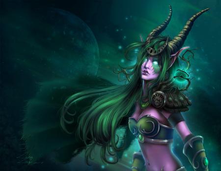 Night Elf Druid World Of Warcraft Video Games Background