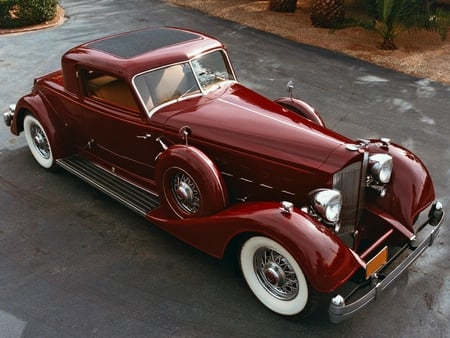1936 Packard Phaeton by Dietrich - packard, v12, designed, dietrich, luxury, phaeton, car, 1936, cowl, elegant, dual, classic, vintage, antique, ray, 36