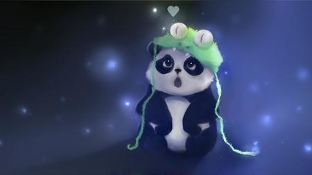 Cute Panda Bear Apofiss