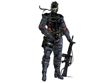 Big Boss (Peace Walker) - big boss, metal gear, metal gear solid, snake