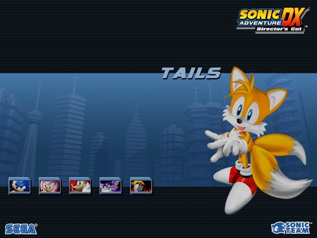 Sonic Adventure DX Director's Cut-Tails - city, tails, video games, sonic adventure dx, sonic