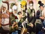 Killer Bee, Jiraiya, Minato, Yamato, Iruka