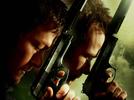 The Boondock Saints II: All Saints Day - sean patrick flanery, guns, the boondock saints, revenge, action, norman reedus, the boondock saints ii all saints day