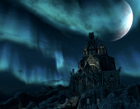 SKYRIM - image, hd, cool, elder scrolls v, wallpaper, skyrim