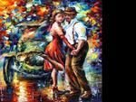 Leonid Afremov - Old Tango, for David (NewRock)