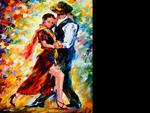 Leonid Afremov - Romantic Tango, for Tony (Nannouk)