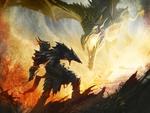 Skyrim - Dragon vs. Knight