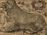 Jodocus Hondius Map of Belgium 1611