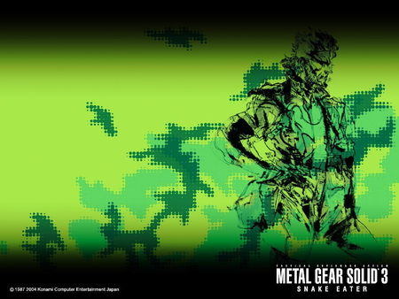 Metal Gear Solid 3 - metal gear, metal gear solid, metal gear solid 3, snake