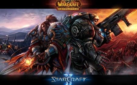 World Of War Craft & Star Craft II - ozi, alex, meyu, mame, mufe
