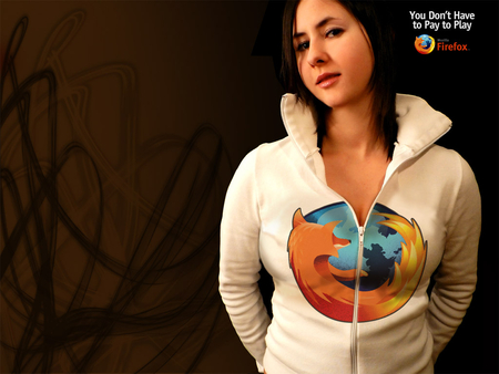 Firefox girl - oop, fire, fox, girl