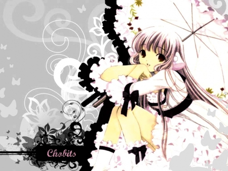 chobits - chii, beautiful, long hair, chobits