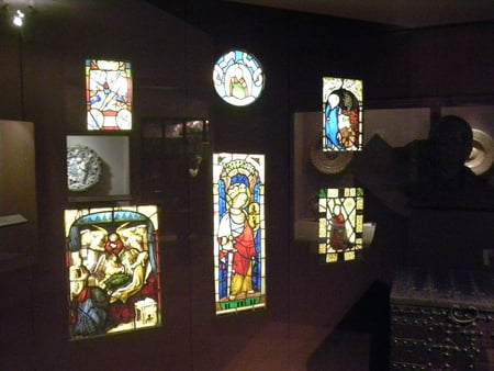 Day at The Royal Ontario Museum,TO,Ontario - museum, religion, beautiful, stained glass