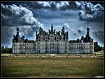 chateau de chambord hdr