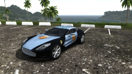 Aston Martin One-77 - Test drive unlimited 2 - test drive, aston martin, police, one-77