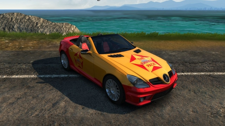 Mercedes SLK55 - Test drive unlimited 2 - test drive, slk55, mercedes, club car