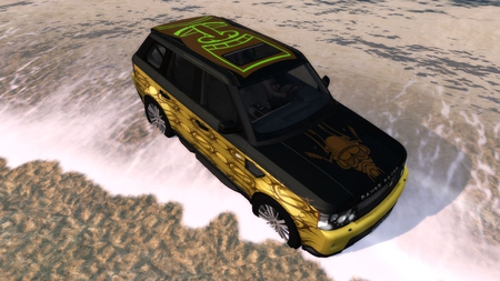 Range Rover Sport - Test drive unlimited 2 - beach, test drive, range rover, custom