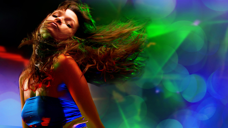 Club Girl - Other & People Background Wallpapers on Desktop