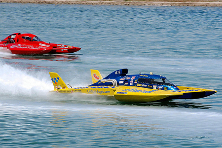 Hydroplane - racing, hydroplane, watersports, thrill