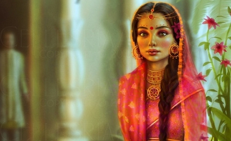 Indian bride 3d and cg abstract background wallpapers on desktop nexus image 987372 - Indian nice girl wallpaper ...