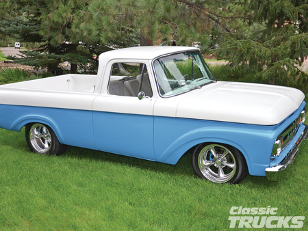 61 Ford F 100 Ford Cars Background Wallpapers On Desktop Nexus