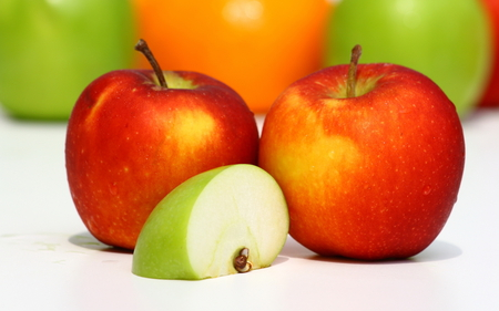 Apples - apple, fruit, food, nature, eat