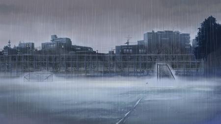 Rain Other Anime Background Wallpapers On Desktop Nexus Image