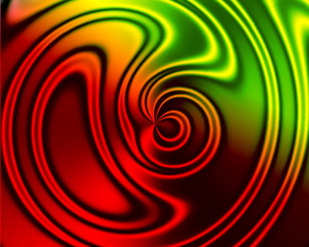 red and green pattern - pattern, red, green, swirly