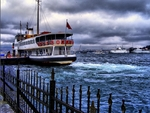 a ferry in istanbul