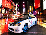 Subaru Impreza At Times Square