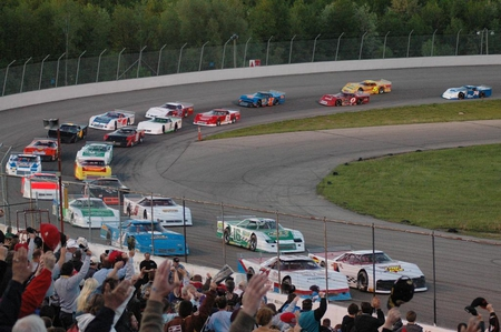 Dixie Cup 100 - cars, people, entertainment, auto racing, sports