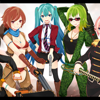 Vocaloid girls