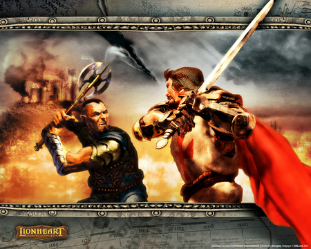 Lionheart - fantasy, battle, sword, axe, rpg