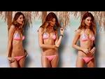 Behati Prinsloo In A Pink Bikini