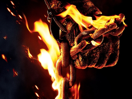 ghost rider - ghost rider, fire, movies, entertainment