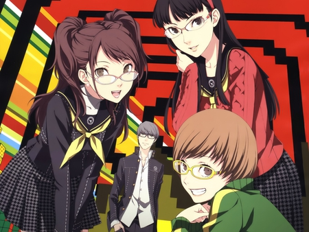 Persona 4 The animation - the animation, rise, persona 4, chie, yuu, yukiko
