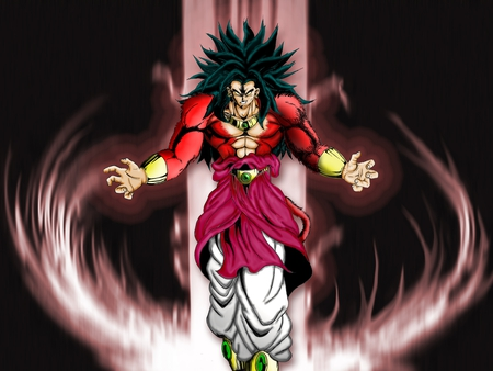 The Legendary Broly SSJ4 - ssj4, broly, z, limitless energy, dragon, ball, super saiyan 4, the legendary, pure power, wrath