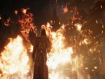 Skyrim one winged angel burns!