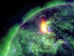 Photo-filtered Solar Storm