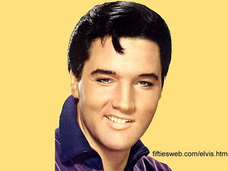 Elvis Presley - elvis, lovely voice, the king, handsome man