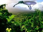 Enterprise Chasing Klingons