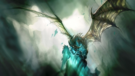 Sky Dragon Fantasy Abstract Background Wallpapers On Desktop