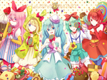 Vocaloid's Candies Factory