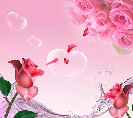 I Love You Flowers Nature Background Wallpapers On Desktop Nexus