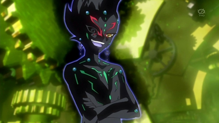 number 96 looks like Astral?! - scarry, yugioh zexal, yuma, astral