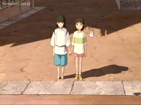 Haku And Chihiro Spirited Away Anime Background Wallpapers On Desktop Nexus Image 999801